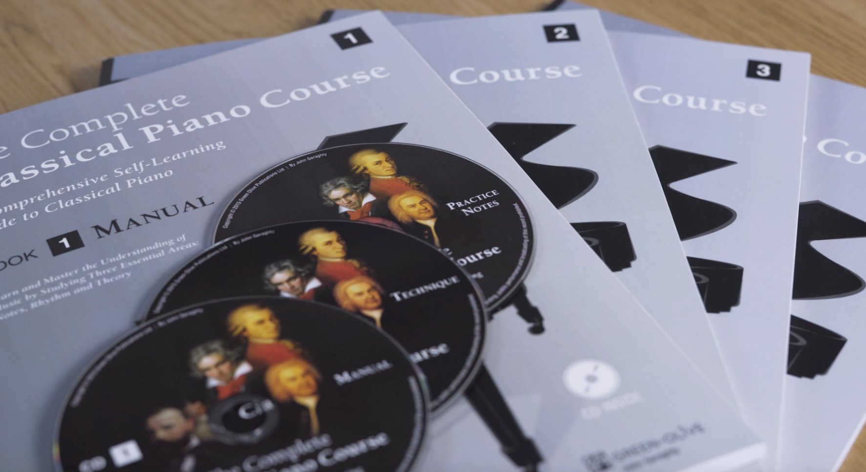 the complete classical piano course